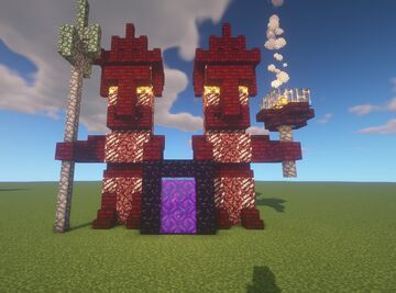 Nether Portal Guardians Minecraft Map & Project