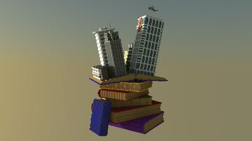 Tycoon Bookshelf Minecraft Map & Project
