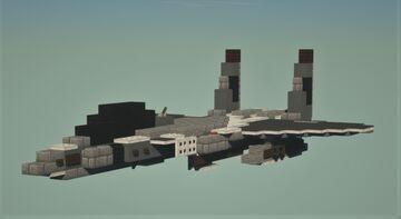 F15e strike eagle Minecraft Map & Project