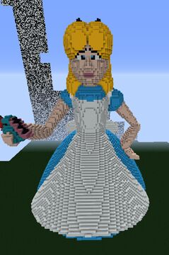Alice in wounderland Minecraft Map & Project