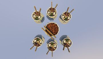 SkyWars Map [Ramen] Minecraft Map & Project