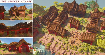 The Crooked Village Minecraft Map & Project