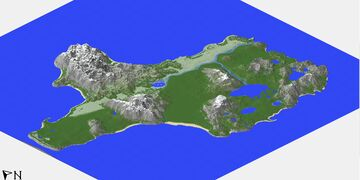 Rp Island map Minecraft Map & Project