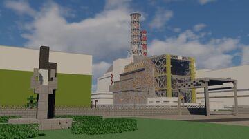 Chernobyl NPP (Чернобыльская АЭС) Minecraft Map & Project