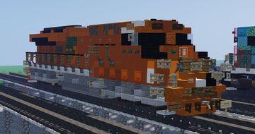 GE ET44AC (CN 3023 [EJE Heritage]) Minecraft Map & Project