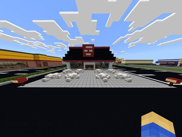 80's Jack In the Box Minecraft Map & Project