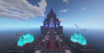 Portal to the nether of ElRichMC from the Elitecraft 2 series Minecraft Map & Project