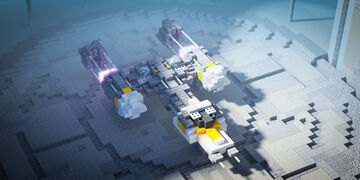 Y-wing Minecraft Map & Project
