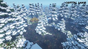 Crystal Lake - Winter Vacation Map Minecraft Map & Project