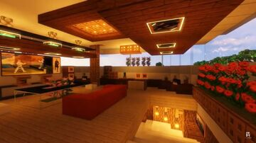 Modern tree house (survival map) Minecraft Map & Project