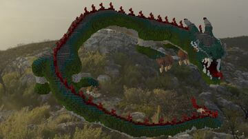 Zen'i no Chinese Dragon Minecraft Map & Project