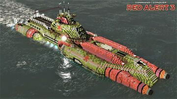 Akula submarine | C&C Red Alert 3 [1.12] Minecraft Map & Project