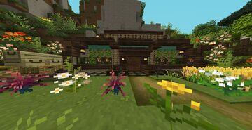 Aerith Hobbit Hole Minecraft Map & Project
