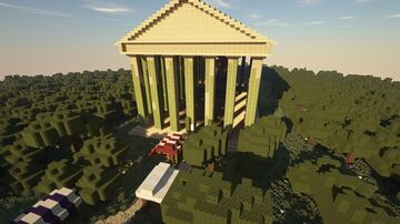temple of Zeus Minecraft Map & Project