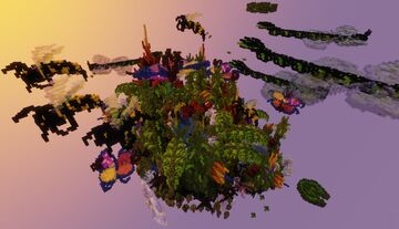 Nature At Large - Floating Island! Minecraft Map & Project