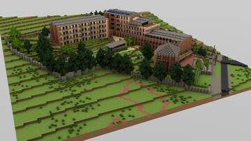 BTE Project - Calvinist Elderly Retirement Home, District 12, Budapest Minecraft Map & Project