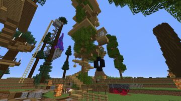 Tree House essentials Minecraft Map & Project