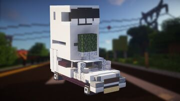 TOP GEAR: Leaning Tower of Citroën (2:1 scale) Minecraft Map & Project