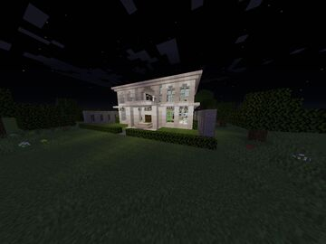 Modern hause #3 Minecraft Map & Project