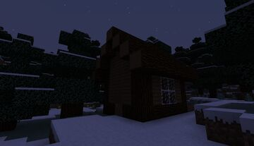 Just a nice log house in the middle of no where with peace and quiet Minecraft Map & Project