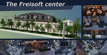 Greenfield City, The Freisoft center Minecraft Map & Project