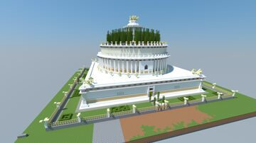 Mausoleum of Hadrian Minecraft Map & Project
