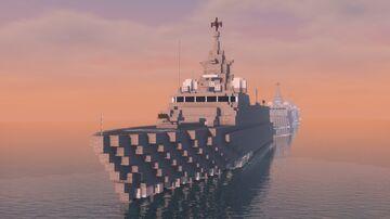 Pohjanmaa-Class Corvette Minecraft Map & Project