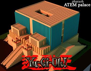 (Yu-Gi-Oh!) Pharaoh Atem throne palace Minecraft Map & Project