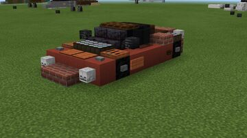 2:1 scale Ferrari F150 (Laferrari) Minecraft Map & Project