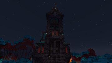 Dark Church And Dark Forest Minecraft Map & Project