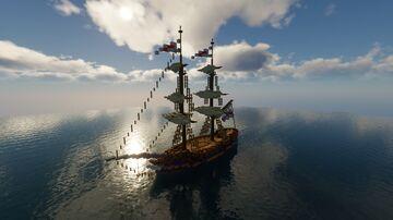 [SR's Boats]Light Brig Minecraft Map & Project