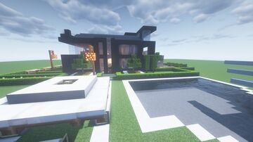 elegant design Modern House Minecraft Map & Project