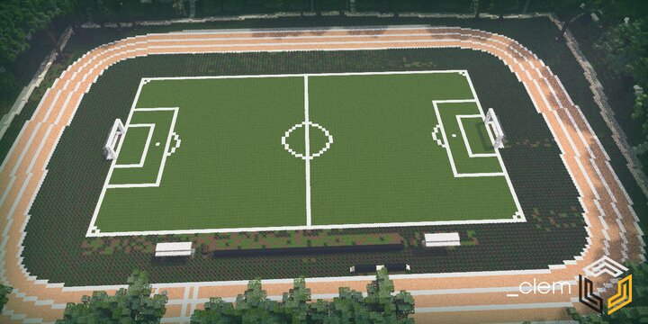 Football Field and Track Oval