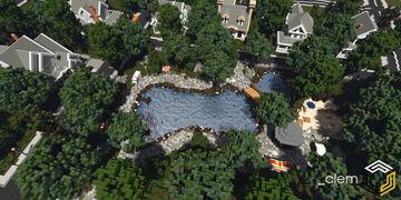 Oakley, Clembury Islands Minecraft Map & Project