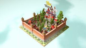 Medieval Castle Village Minecraft Map & Project