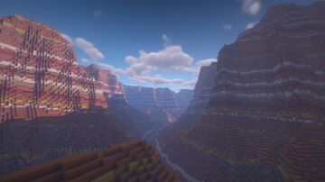 Grand canyon Minecraft Map & Project