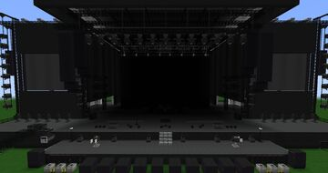 Realistic Music Festival Stage Minecraft Map & Project