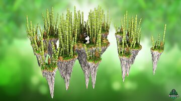 ⭐ EXCLUSIVE ⭐ SamiLog Bamboo - AliensBuilds 🐼 Minecraft Map & Project