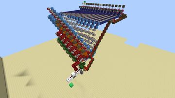 serial 8-bit multiplier (download, work in progress) Minecraft Map & Project