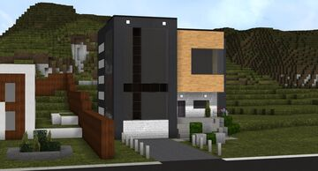 Contemporary House 2 Minecraft Map & Project