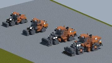 Doosan wheel loaders [With Download] Minecraft Map & Project