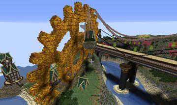 steampunk Magic city Minecraft Map & Project