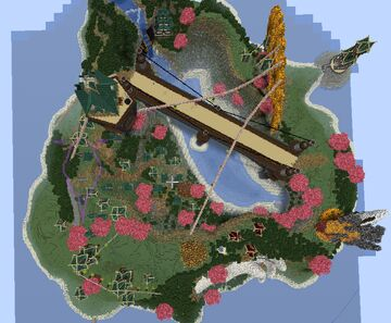 steampunk Magic city Minecraft Map & Project