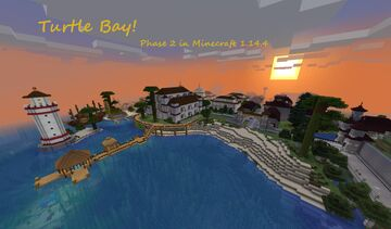 Turtle Bay - Phase 2 (Worldmap with download in 1.14.4 Now Available!) Minecraft Map & Project