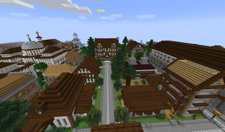 Royal Ave towards the Royal Inn