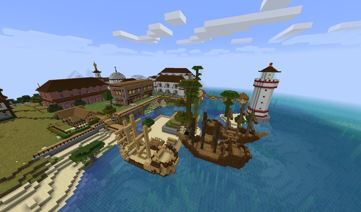 Waterfront District before Phase2 completion.