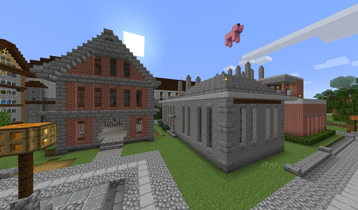 From left to right The Armory, the Forge foundry v2, and the Foundry foundry v1
