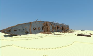 SS Cathedralia Oceano Wreck Minecraft Map & Project
