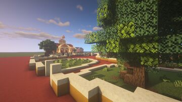 LazyTown 1.16.1 Java Edition (Modded Fabric) Minecraft Map & Project