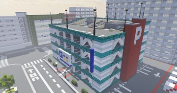 Japanese style parking Minecraft Map & Project